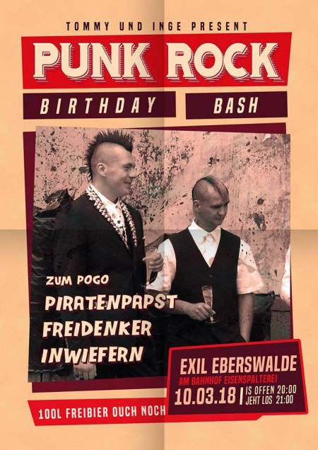 Punk Rock Birthday Bash
